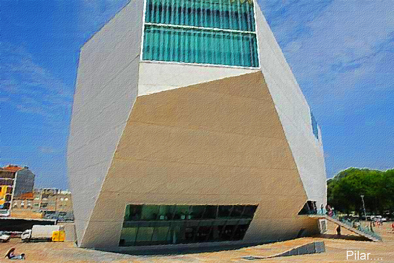 Pilar y sus complices casa de la musica oporto portugal - Casa de la musica oporto ...