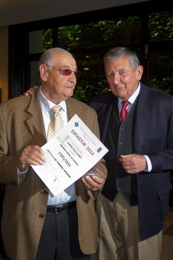 Daniel Jiménez Villa y Benjamín García