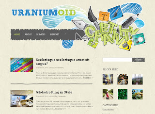WordPress-Template Uraniumoid