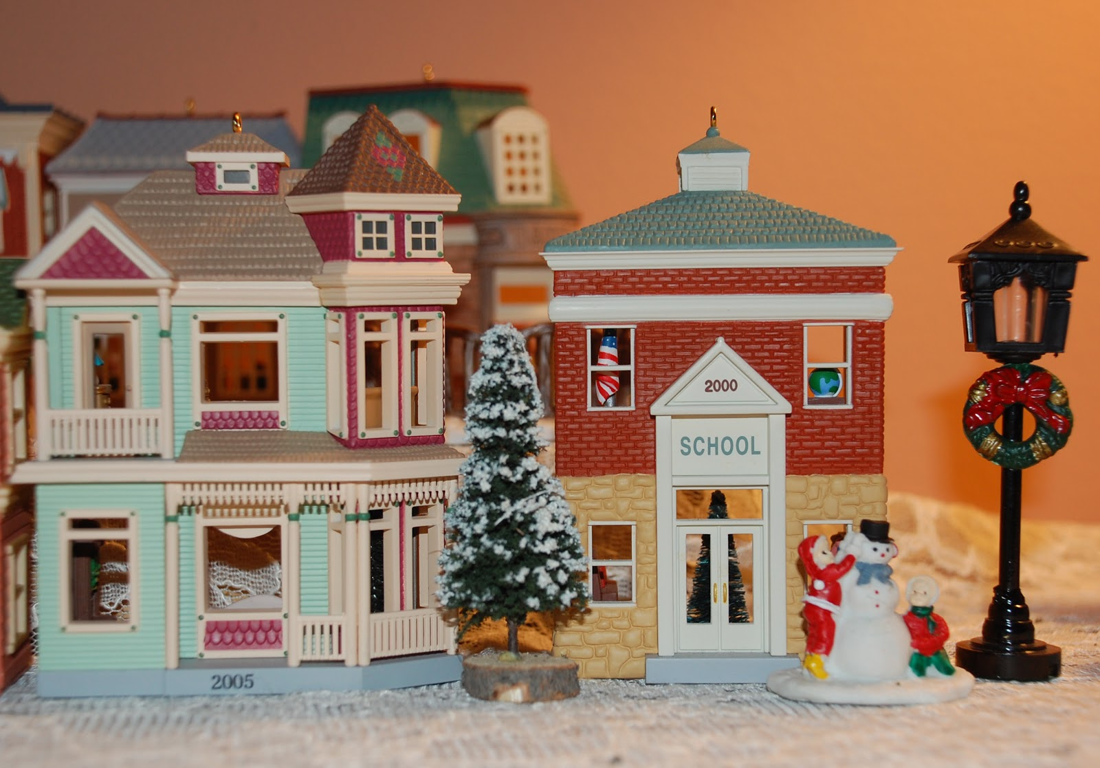 i never look in hallmark stores at their ornaments i like to be surprised i wonder what it will be this year - Hallmark Christmas Village