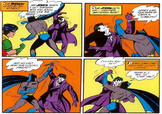 As cinco maiores batalhas do Batman 14