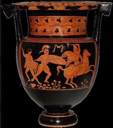 Scuola popolare di filosofia macerata 16 ottobre 2014 for Vaso greco a due anse