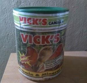 VICK'S CANARY NUTRISI UNTUK KENARI JADI TOP PERFORM