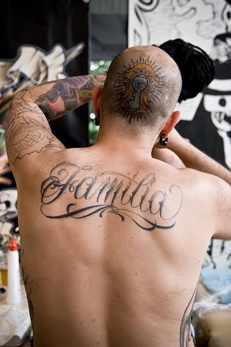 Tatouage Familia motif