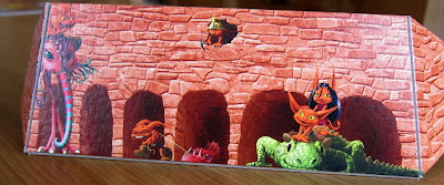 Dungeon Petz - One of the players screens