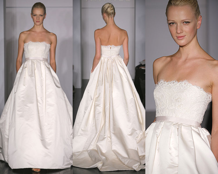 Cheap wedding gowns online blog amsale bridal collection for Very pretty wedding dresses