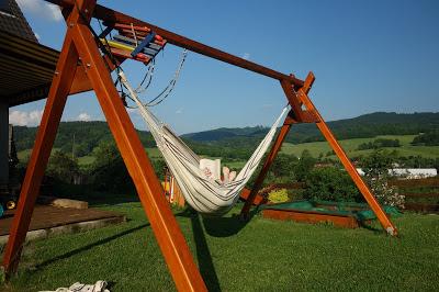 Konstrukce pro houpací síť
