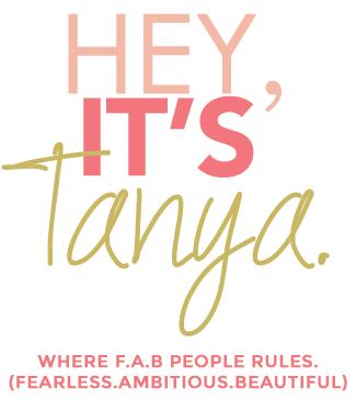 Hey it's Tanya.