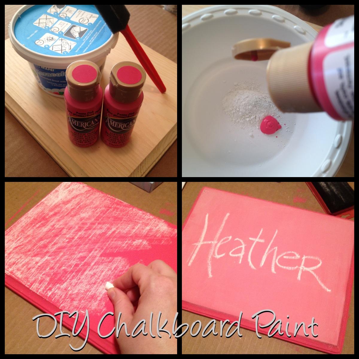Diy Chalkboard Paint 7 52 Ht The Blog