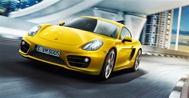 Porsche Cayman HD Wallpaper