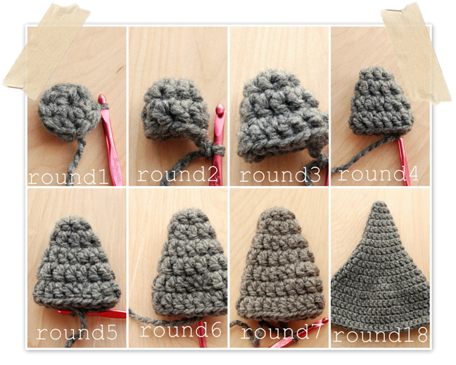 Tutorilal How To Crochet A Baby Gnome Hat