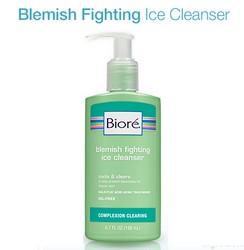 Amostra Gratis Anti-Acne Biore Blemish Fighting Ice Cleanser