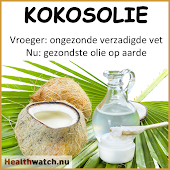 Kokosolie is gezond..