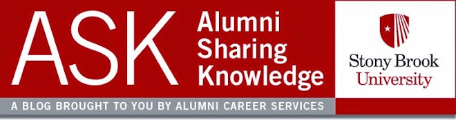 SBU Alumni Sharing Knowledge Blog