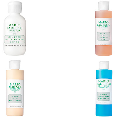 Mario Badescu, Mario Badescu Summer Favorites Set, Mario Badescu skincare, Mario Badescu skin care, Mario Badescu moisturizer, Mario Badescu shower gel, Mario Badescu bubble bath, Mario Badescu Oil Free Moisturizer SPF 30, Mario Badescu Summer Shine Body Lotion, Mario Badescu lotion, Mario Badescu After Sun Cooling Gel, Mario Badescu Seaweed Bubble Bath and Shower Gel, skin, skincare, skin care, giveaway, beauty giveaway, A Month of Beautiful Giveaways