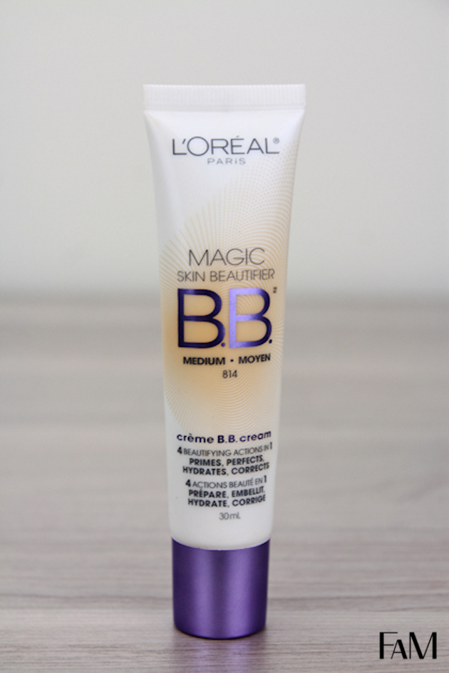 L'OREAL MAGIC BB CREAM MEDIUM REVIEW AND SWATCH