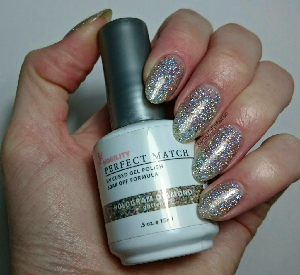 B Nailed To Perfection: LeChat Perfect Match Hologram Diamond