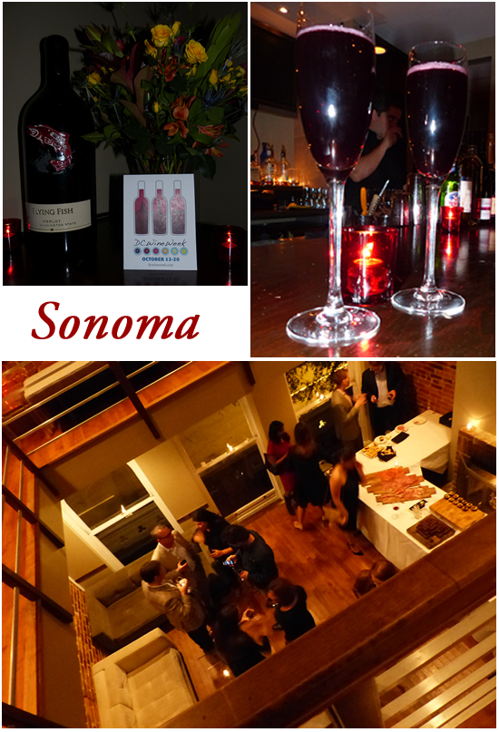 DC Wine Week Kickoff Party at Sonoma Restaurant on Capital Hill