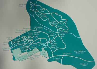 Map of the Wilbur D. May Arboretum and Botanical Garden, Reno, Nevada