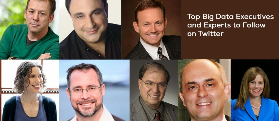 Top Big Data Executives and Experts to Follow on Twitter