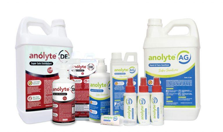 Jual Sanitizer dan Disinfektan 'non alkohol 'food grade ( klik gambar untuk pembelian viaToPed )