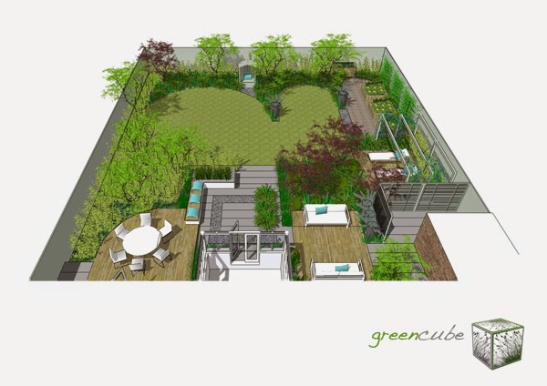 Best 3d Garden Design : Greencube garden and landscape design uk where s