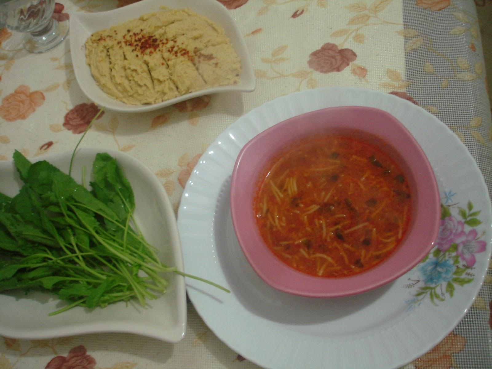 Kış Çorbası ve Marifetli Set