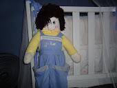 boneco porta fralda