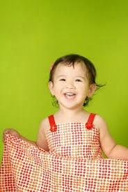 foto bayi ceria cantik