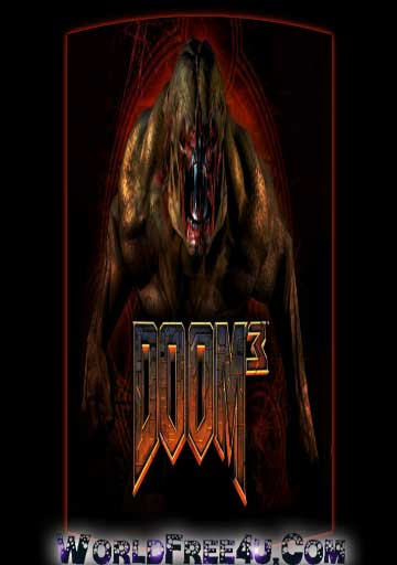 Cover Of Doom 3 Full Latest Version PC Game Free Download Mediafire Links At worldfree4u.com