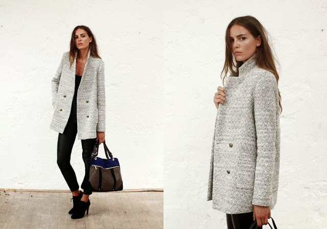 Caban Bogart Sezane Collection Hiver 2013