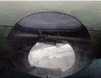 Иллюминатор стрелка-радиста Пе-2