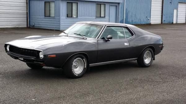 1972 Amc Javelin Sst Muscle Car Auto Restorationice