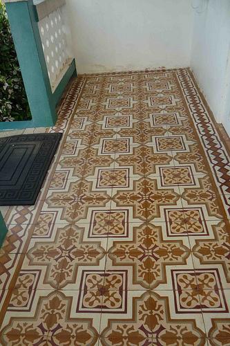 La vida simple con nereyda castillo oda al piso de mosaicos for Mosaico para piso