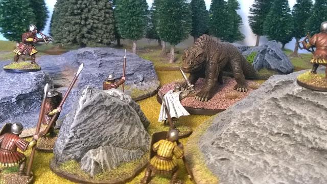dragon rampant fantasy lion monster dragon