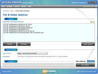 Secure Eraser Mac v4.3 Final Portable