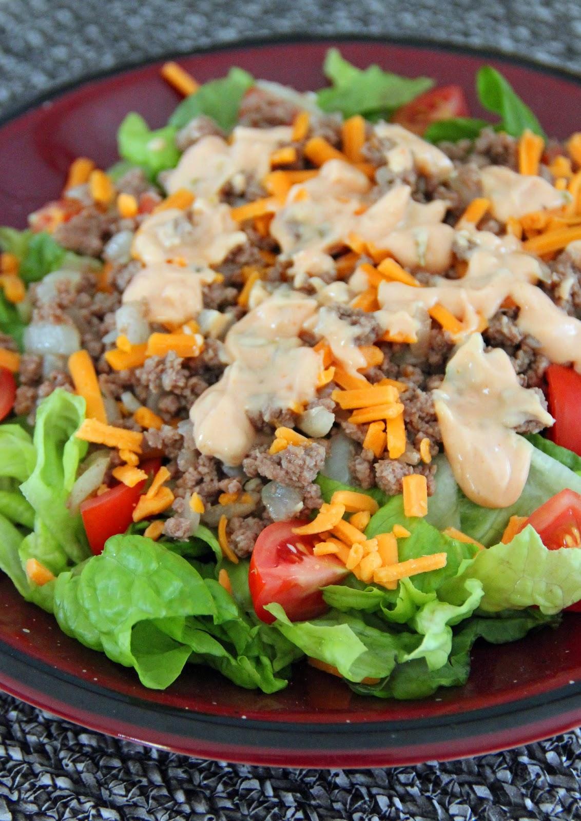 Jo and Sue: Cheeseburger Salad