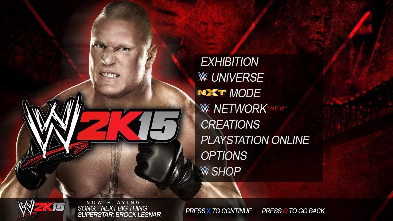 WWE 2K15 Download