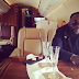 Iyanya and his manager fly private jet and they shared the pictures