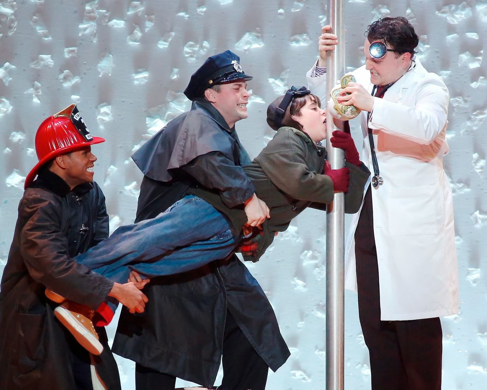 Evan and Lauren's Cool Blog: 11/21/13: A Christmas Story, The Musical at Boston's Citi Wang Theatre