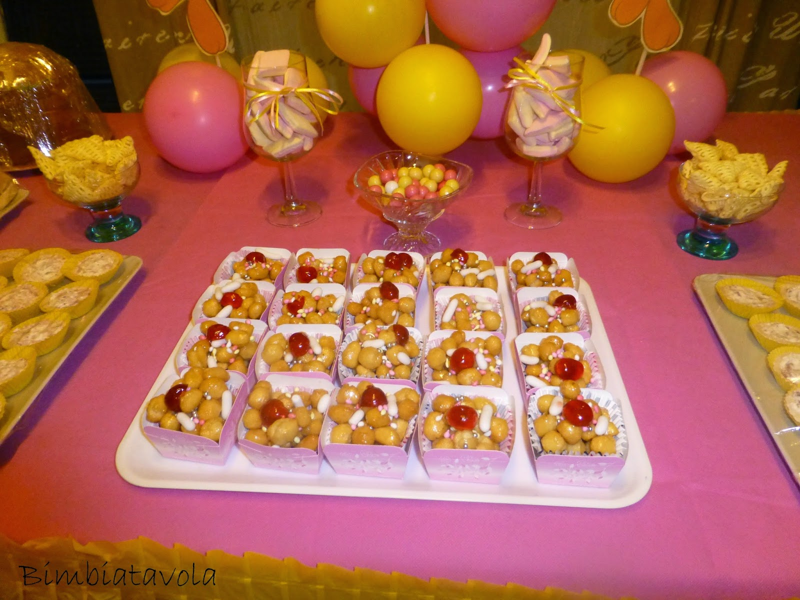 Top bimbi a tavola: Festa a tema titti, il primo compleanno di Martina CE46