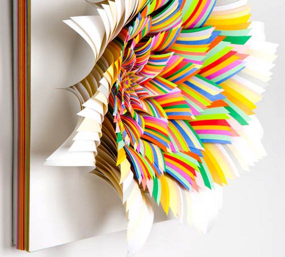 The Top Of 2011 Amazing Paper Sculptures Creative Art Photos