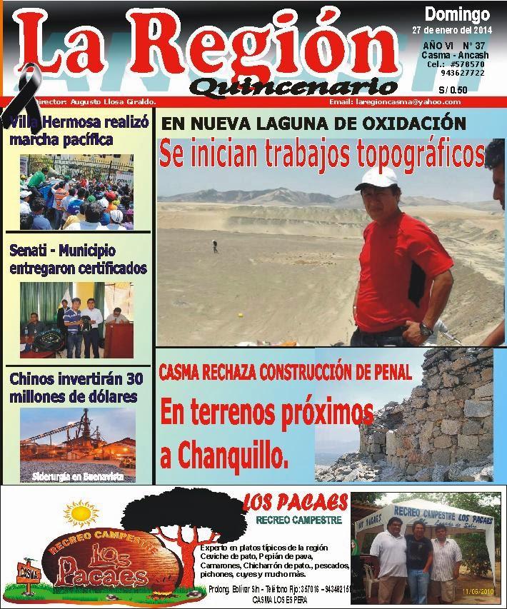 Periódico La Región Nº 37