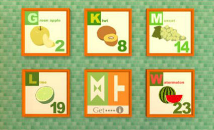 Fruit Kitchens Melon Green