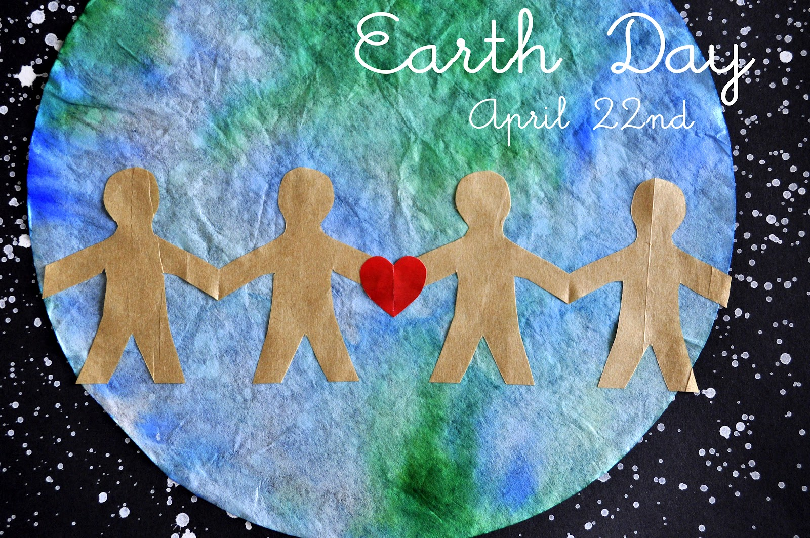 Earth Day Craft With Writing Prompt Shes Crafty