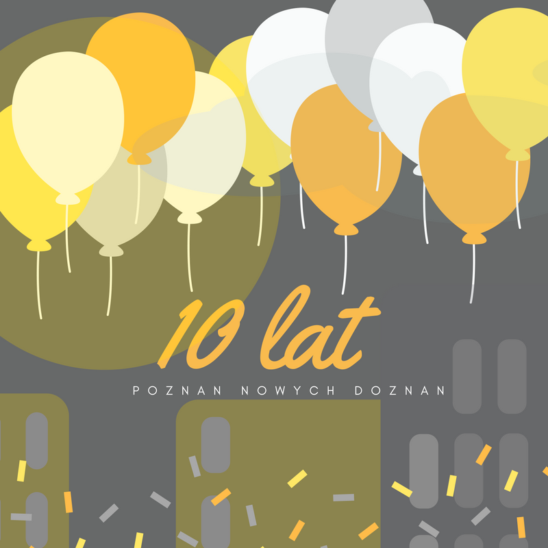 Świętujemy 10 lat istnienia bloga w sieci!
