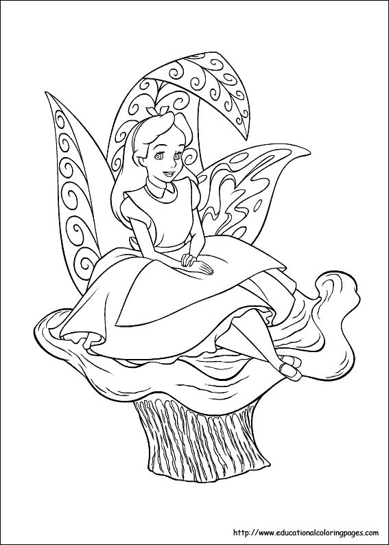 colouring and puzzles printable pages dot dot duck and alice in wonderland
