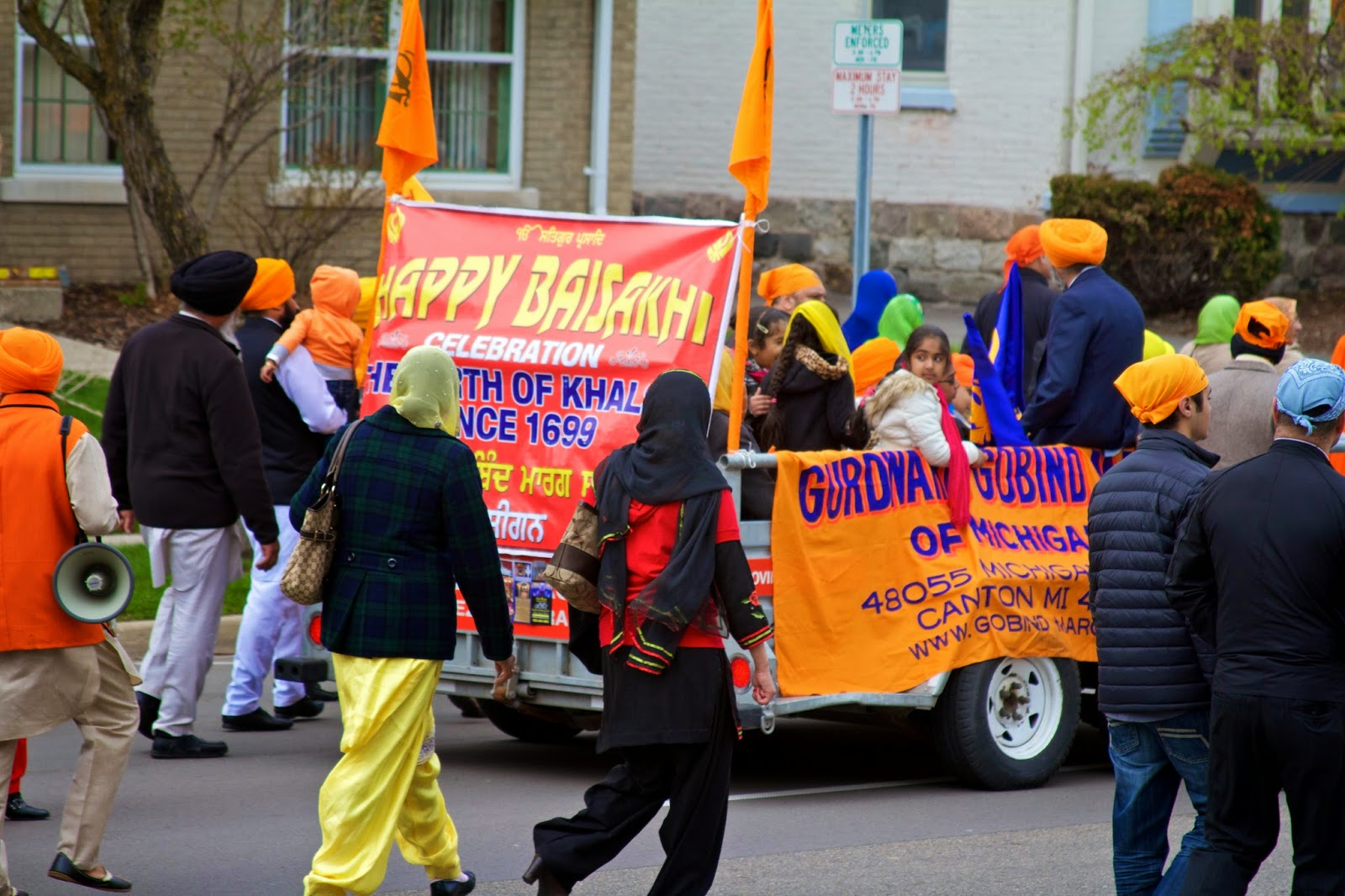 Tammy Sue Allen Photography, Annual Sikh Day Parade in Lansing Saturday, April 25, 2015.