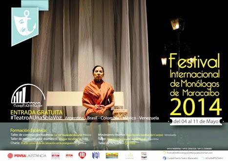 Festival Internacional de Monólogos de Maracaibo 2014