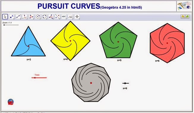 http://dmentrard.free.fr/GEOGEBRA/Maths/export4.25/pursuitcourb.html